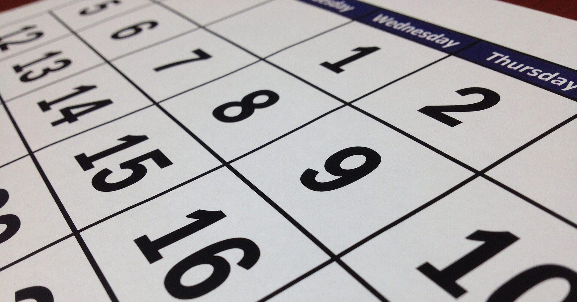 preventative maintenance calendar pm calendar