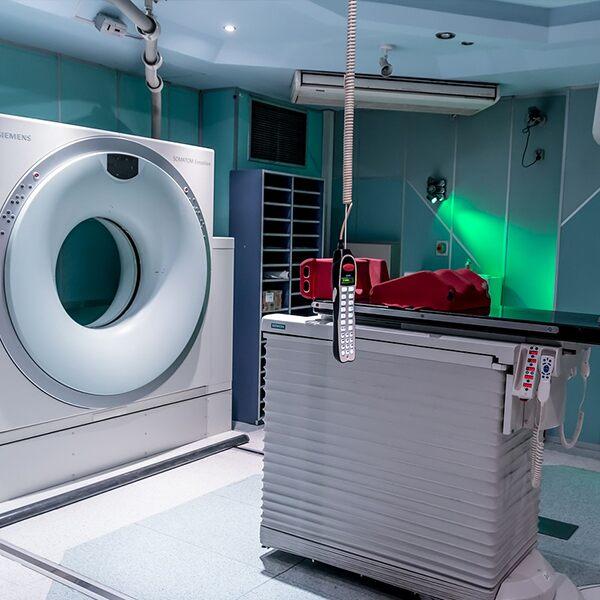 MRI Machine and room